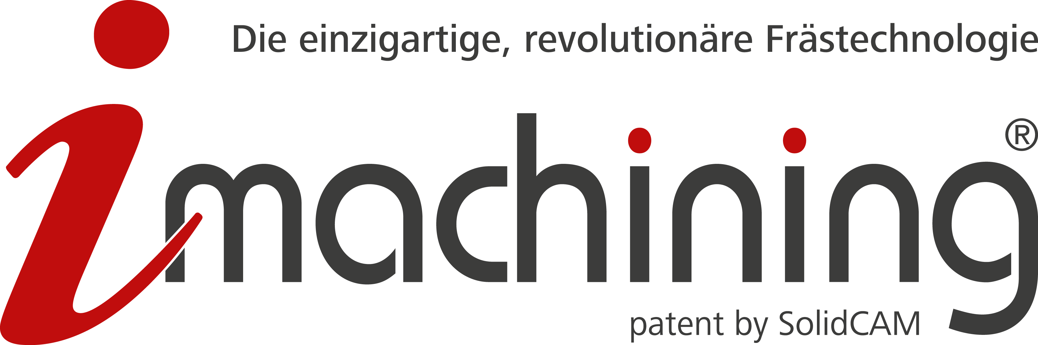 iMachining logo DE registered patent